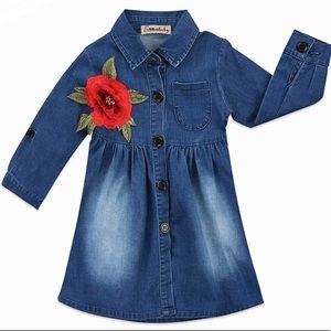 Other - 🌺 Denim Dress Sizes 4T and 5 🌺